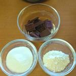 チョコクッキー材料
